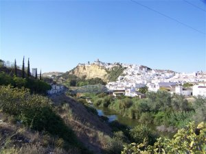 Looking towards Arcos
