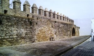 The battlements of Vejer