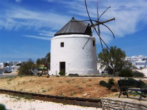 The ancient windmills