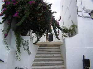 Steps are verywhere in Vejer