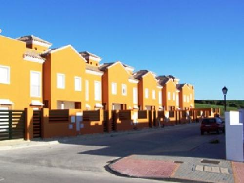 Townhouses close to town centre but with open aspects