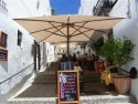 Outdoor dining in Vejer