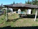 Pergola and pool area